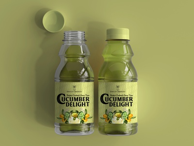 Mocktail beverage bottle label design bottle label design bottle beverage branding packaging design package design labeldesign