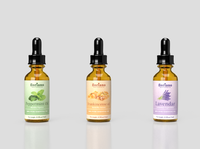 Essential Oils label Design.