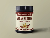 Vegan Protein Label Design