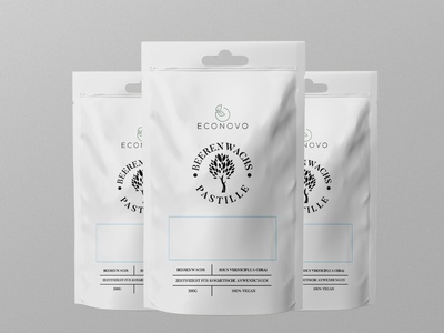Beeren Wachs Label Design