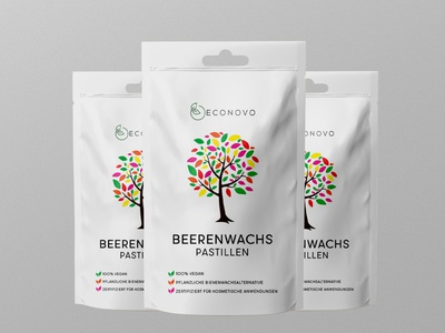 Beeren Wachs Label Design shorts short label dribbble design label packaging branding packaging design package design labeldesign