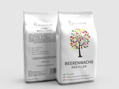 Beerenwachs pastillen Packaging Design