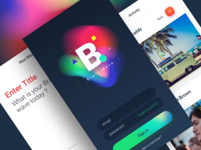 Brain Wave - App Design