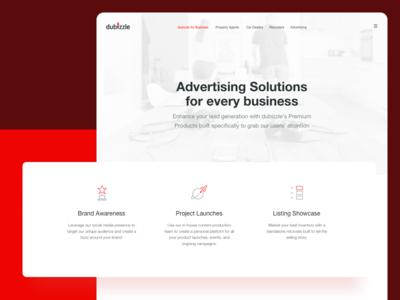 Landing Page - Advertising