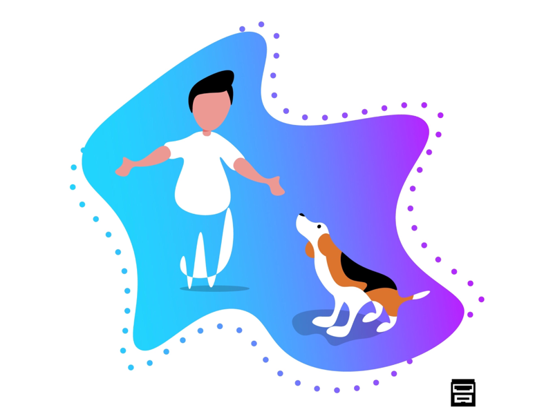 Beagle unconditional love 💕