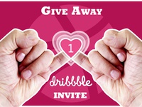 One Dribbble Invite