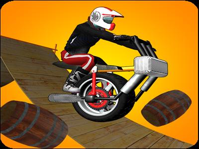 One Wheel Bike Stunts