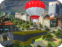 Flying Air Balloon Bus Adventure