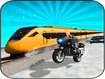Super Police Chase Train game android hostages thieves blast bullettrain climb combat policecar policeman passengers robbers city train chase police super