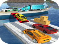 Luxury City Vehicle Transport Ship Driving