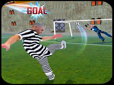 Jail Sports Events: Prisoner vs Police