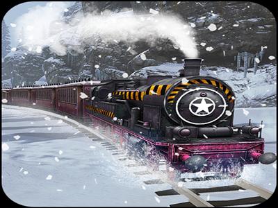 Mountain Train Driving 2K19