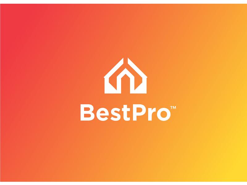 BestPro Logo Design illustrator illustration icon flat typography identity brand minimal logo design graphic design branding