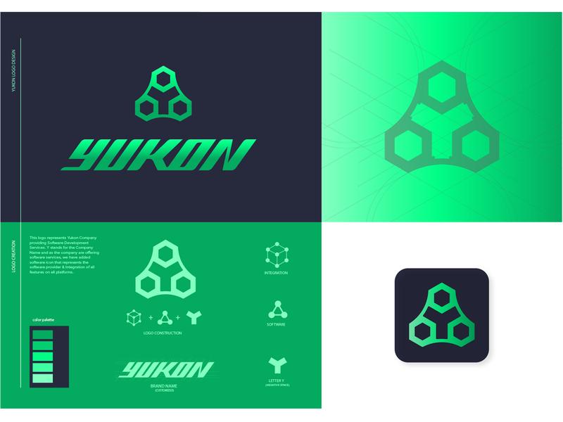 Yukon Logo Concept Option 2 y logo minimal logo design minimalist logo symbol icon icon flat typography identity brand minimal logo design graphic design branding