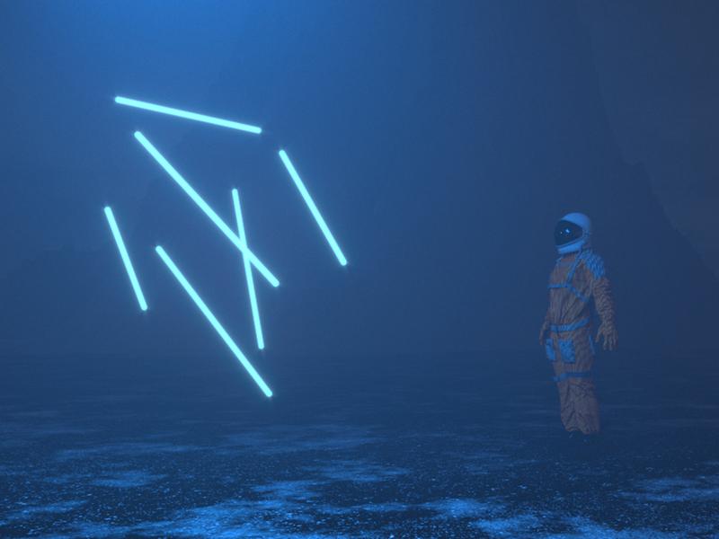 VOLUMETRIC 3D ART cinema4d cinema4dart coronarender 3dart futurism futuristicart futuristicart futuristic minimal design graphic design