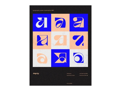 Letter A lowercase exploration typo posters poster art poster a day poster design graphic design symbol icon icon flat identity brand logo minimal typography branding