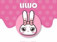 The mascot  rabbit 吉祥物 灵灵兔