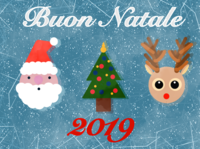 Christmas Characters - a Christmas Card 2019 natale santa clause santa claus santaclaus christmas tree rudolf reindeer happy christmas cute animal art children art procreate dribbble illustration