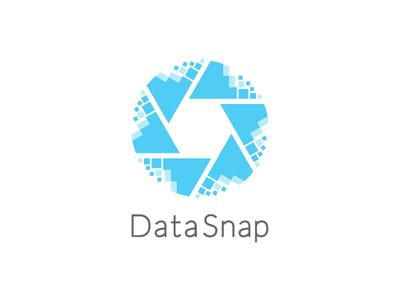 Data Snap logotype icon app flat web app branding logo vector design icon