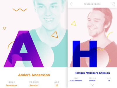 Daily UI - User profile Detailed