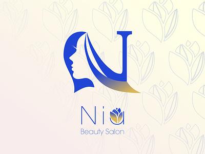 Beauty Saloon Logo beauty logo illustration design identitydesign icon graphic branidng brand logo saloon beauty