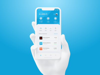 Payment App Exploration clean ui design sketch banking banking app ui ux mobile ui payment mobile ios design category card app