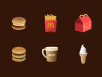 McDonald's Icon Design