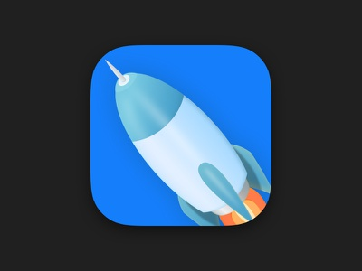 Rocket App Icon ui icon app rocket