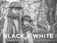10 Free Black And White Lightroom Presets