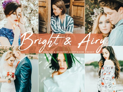 Free Bright Airy Mobile Desktop Lightroom Preset