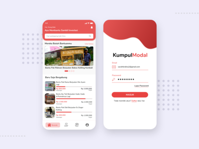 KumpulModal - Crowdfunding App For Street Vendor