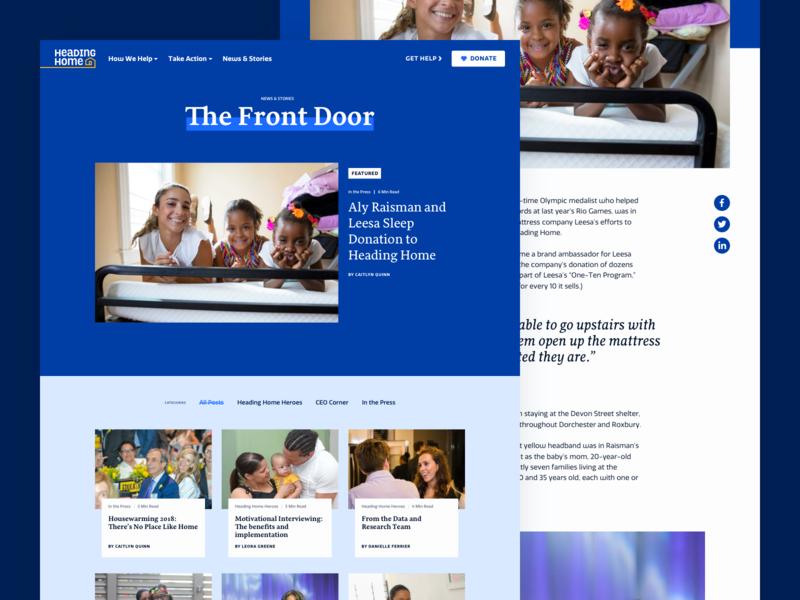 Heading Home – Website branding website ui 829 creative dan fleming design