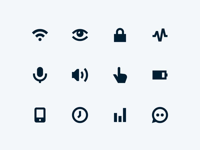 Pria Iconography iconography website ui icon set 829 creative dan fleming design
