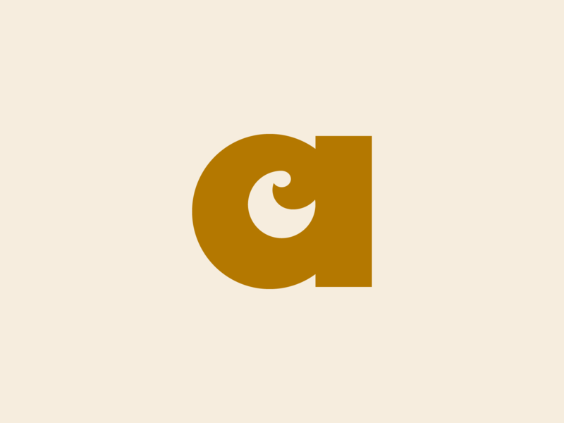 ac monogram branding logo brand identity creative dan fleming design
