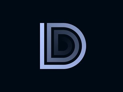 D d monogram branding logo brand identity creative dan fleming design