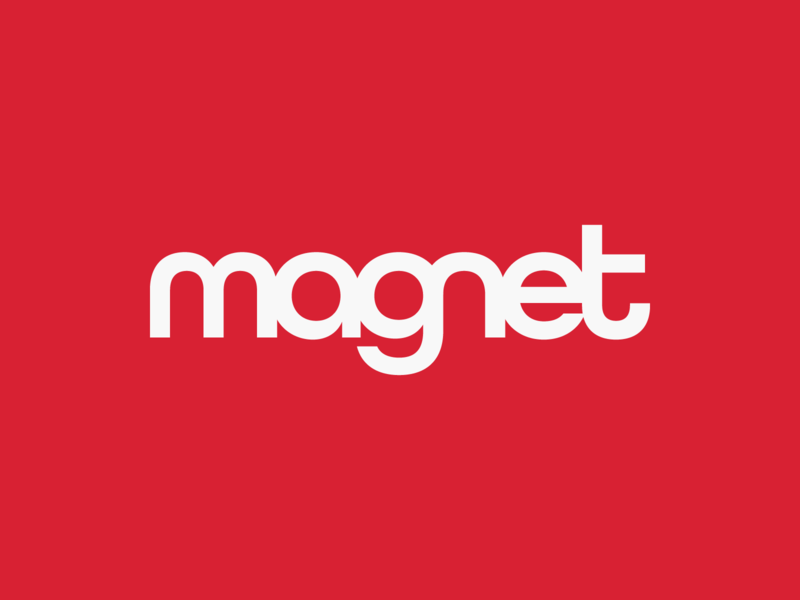 magnet wordmark wordmark magnet symbol branding logo brand identity creative design dan fleming