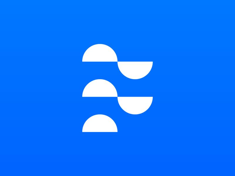 F / Float f monogram float branding logo brand identity creative design dan fleming