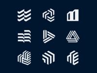 Building Management Symbols building symbol logo branding 829 brand identity creative design dan fleming