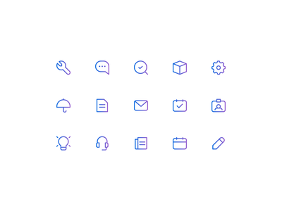 Dropdown Menu Icons branding linework icon set brand identity 829 creative design dan fleming