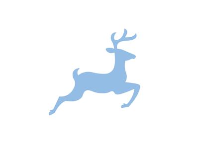 Deer dan fleming creative design logo rebrand summer camp deer silhouette brand identity 829