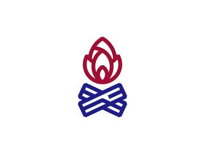 Campfire Icon camp fire icon design design creative dan fleming 829