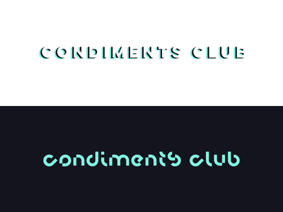 Condiments Club Logotypes