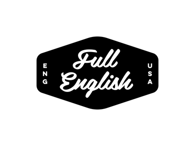 Full English Lettering audio english custom logotype lettering design dan fleming