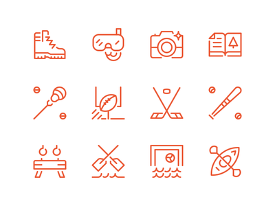Summer Camp Icons II