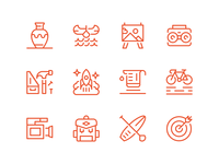 Summer Camp Icons III