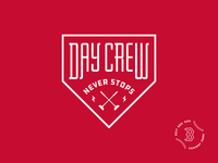 Red Sox Crew Badge
