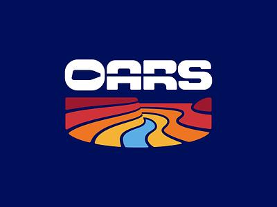 OARS Logo oar negative space wordmark logo brand identity 829 creative design