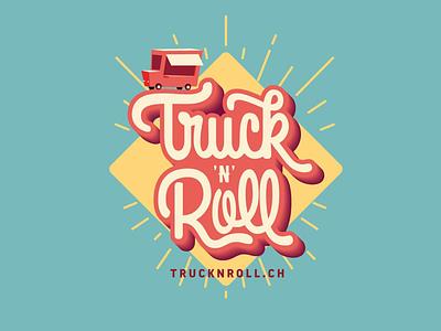 Truck 'n' Roll custom type streetfood rock truck rock n roll