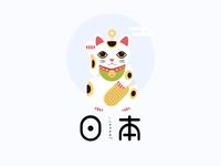 Japan fortune Cat