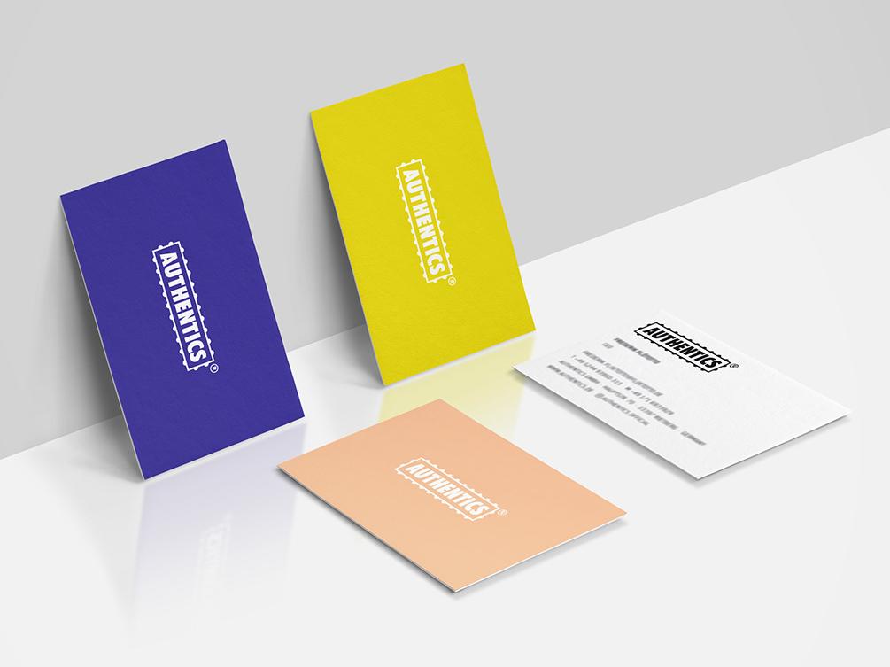 Dribbble Authentics Visitenkarten Titel Bureau Lars